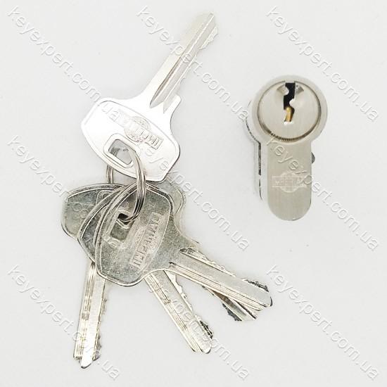 Цилиндр Imperial цинк 60 (30x30) сатин английский ключ